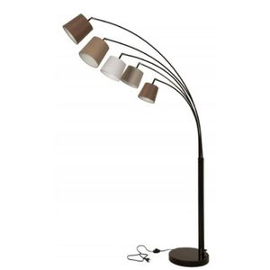 LAMPADAIRE Casa Padrino lampadaire design noir / multicolore