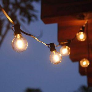 GUIRLANDE D'EXTÉRIEUR Guirlande lumineuse 25 Ampoules Filament 7,65M Ext