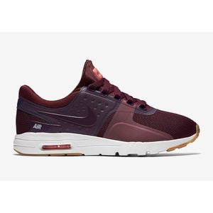 énorme réduction 820c5 68d7a Basket NIKE AIR MAX ZERO Bordeaux - Achat / Vente basket ...