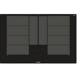 PLAQUE INDUCTION Siemens EX801LYC1E, Intégré, Plaque avec zone à in
