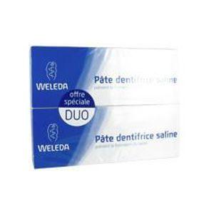 DENTIFRICE Weleda Pâte Dentifrice Saline Lot de 2 x 75 ml