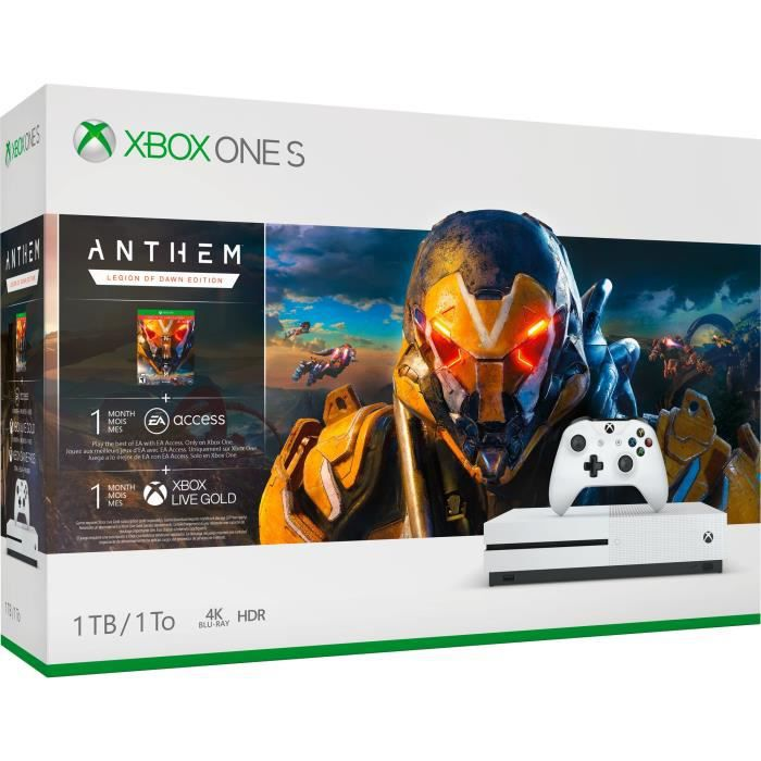 Xbox One S 1 To Anthem