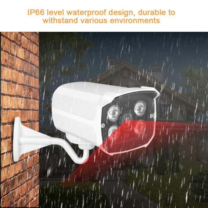 Caméra de vidéosurveillance avec caméra de vidéosurveillance extérieure AHD - CVI - CVBS de caméra de sécurité de 1080P AHD