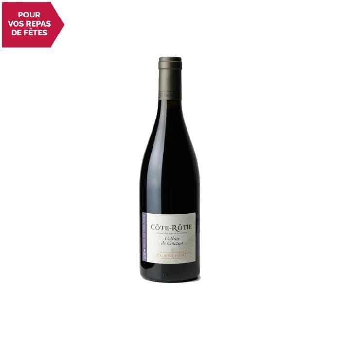 Côte Rôtie Colline de Couzou Rouge 2018 - 75cl - Domaine Patrick et Christophe Bonnefond - Vin AOC Rouge de la Vallée du Rhône