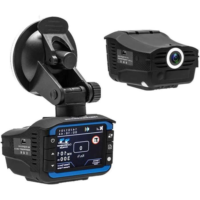 3 en 1 voiture DVR d&eacutetecteur de radar GPS Tracker voiture DVR cam&eacutera enregistreur de conduite anti radar radar Das32