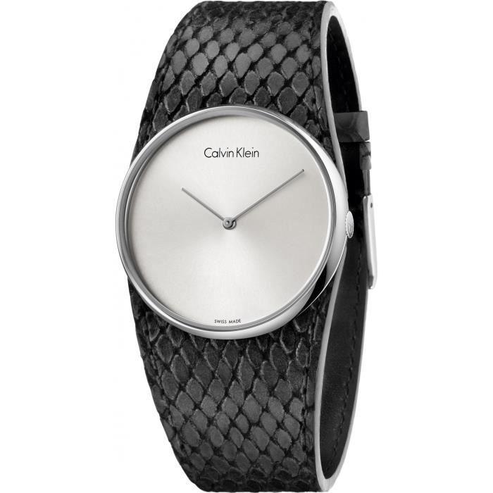 Calvin Klein Spellbound K5V231C6 Montre Bracelet pour femmes Plat & léger