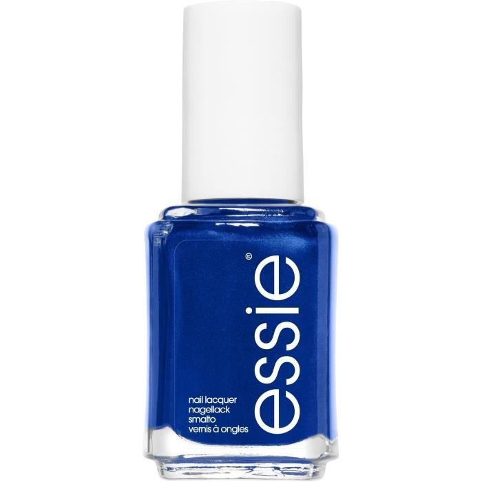 Essie Vernis à ongles 92 Aruba Blue - Un bleu saphir au fini métallique - 13,5 ml