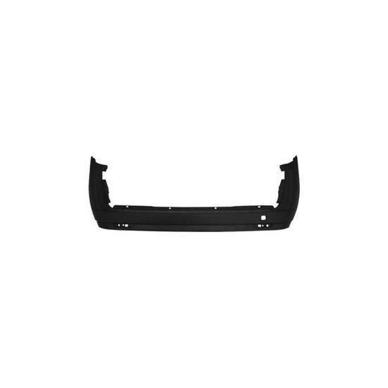 Pare chocs arrière FIAT DOBLO II phase 1, 2010-2014, (2 portes arrière), noir.