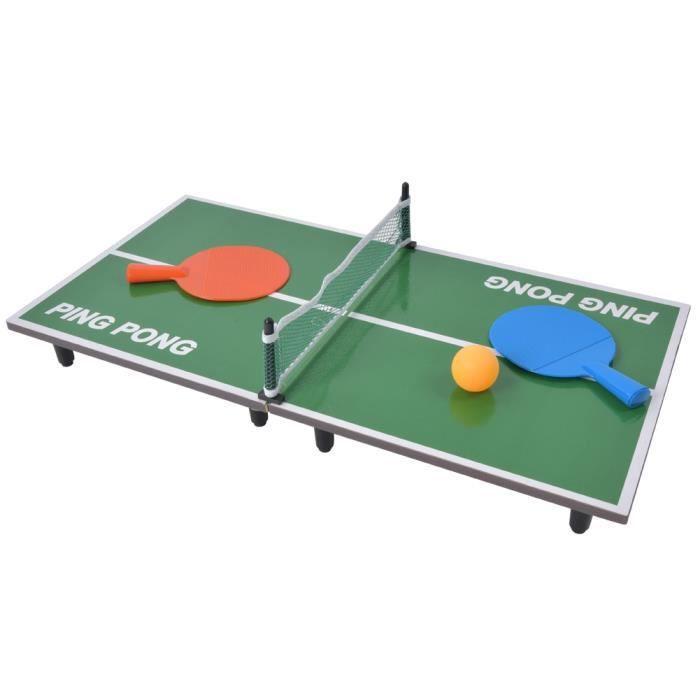 Mini tennis de table intérieur jeu de table pliant bureau de ping-pong jouet de divertissement parent-enfant_1SHC