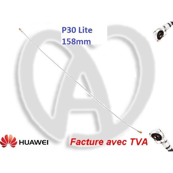 Huawei P30 Lite Antenne Réseau WIFI GSM Blanche 158mm-TactilEst