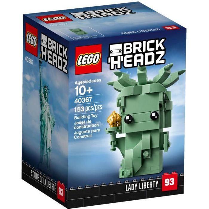 LEGO BRICKHEADZ 40367 La Statue de la Liberté