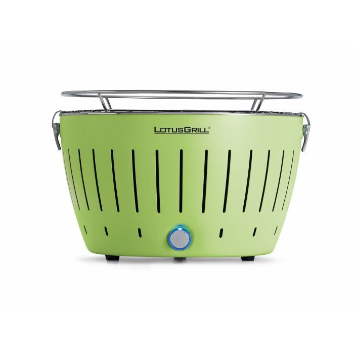 LOTUSGRILL - Barbecue portable 2-4 personnes Vert
