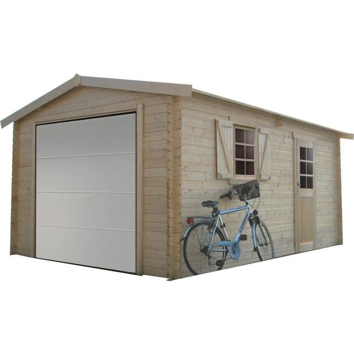 SOLID Garage Traditional 358x538cm - 40mm