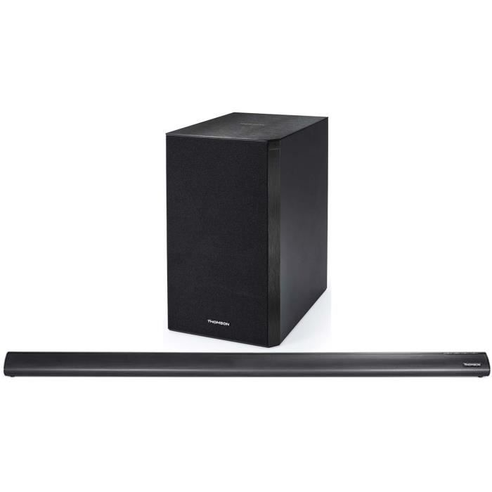 THOMSON SB500BT Barre de son Bluetooth avec caisson de basses sans fil - 180W