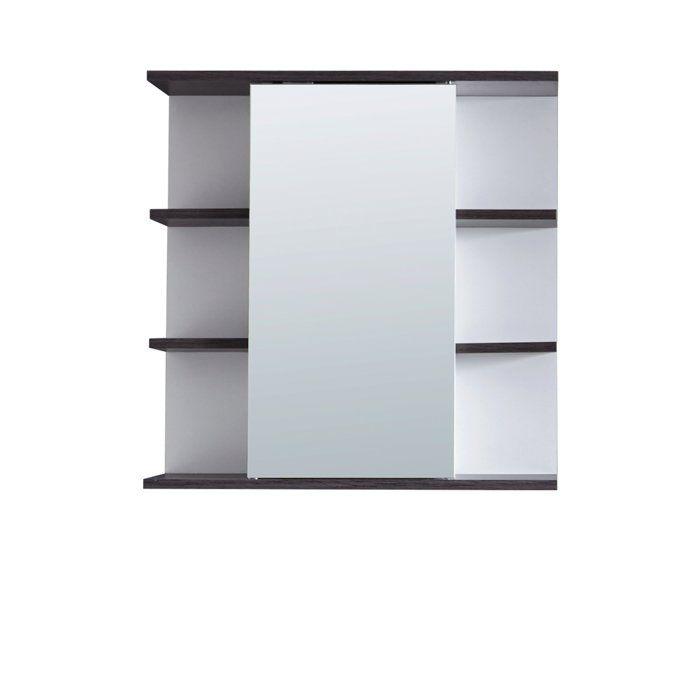California/SanDiego - Armoire de toilette - Blanc - 60/60/20