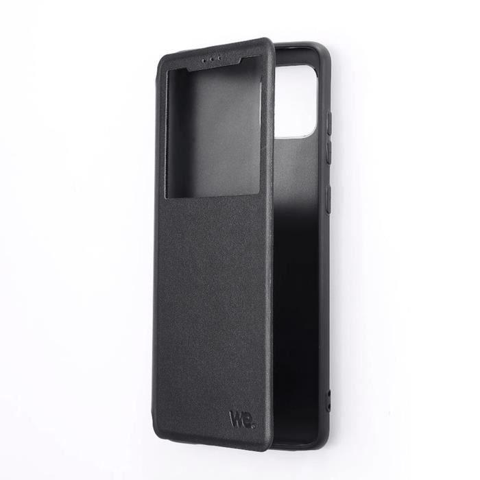 Etui de protection WE noir pour smartphone XIAOMI MI 11 Résistant aux chocs et chûtes. Accès caméra et multi-position. Noir