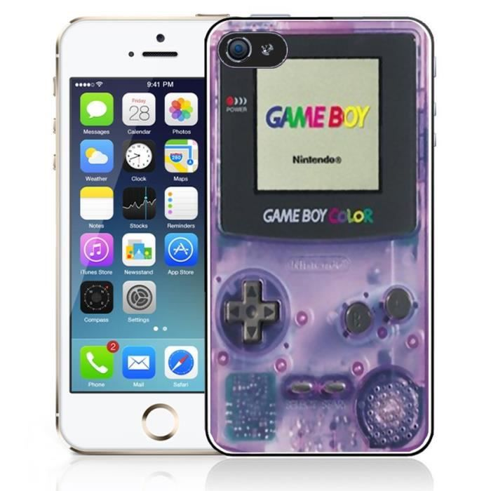 coque iphone 6 game boy noir