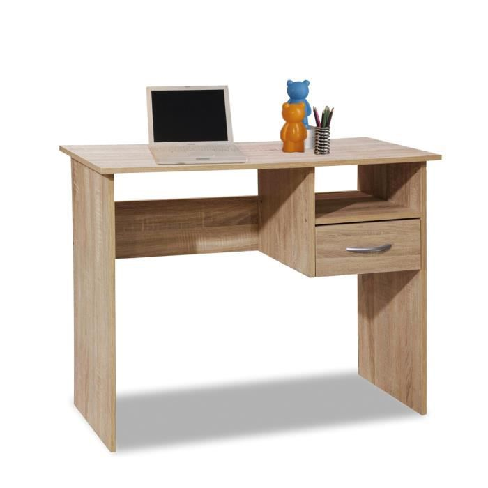 bureau bois clair achat vente bureau bois clair pas. Black Bedroom Furniture Sets. Home Design Ideas