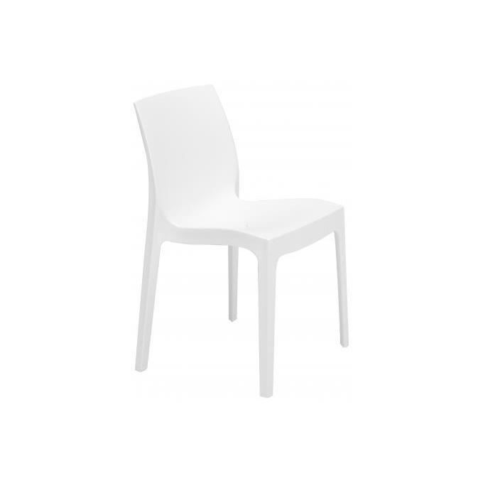CHAISE Chaise design blanche Istanbul