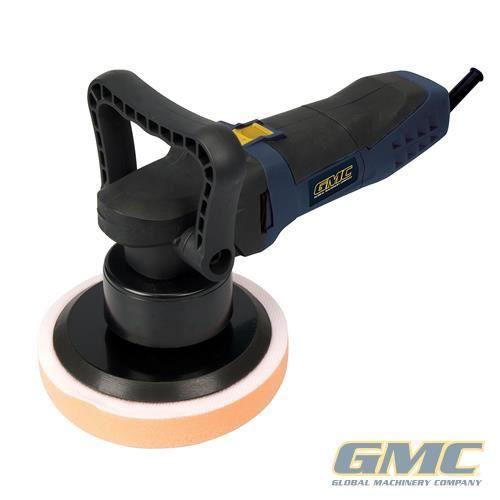 VONROC Polisseuse excentrique /à double action Disque de support 150 mm tampon et sac compris 1050 W Vitesse constante Soft Start