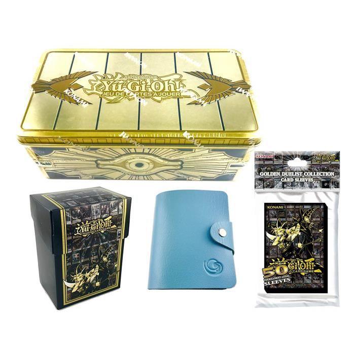 CARTE A COLLECTIONNER Kit Méga Tin Box 2019 Sarcophage Doré en Edition f