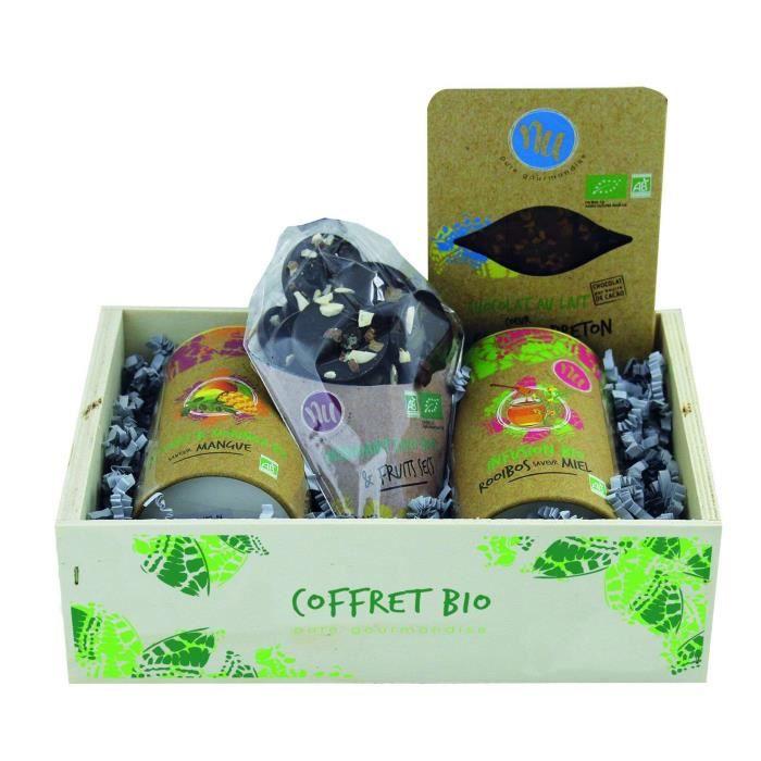 COFFRET CADEAU ÉPICERIE Coffret Decouverte Bio - 410 g
