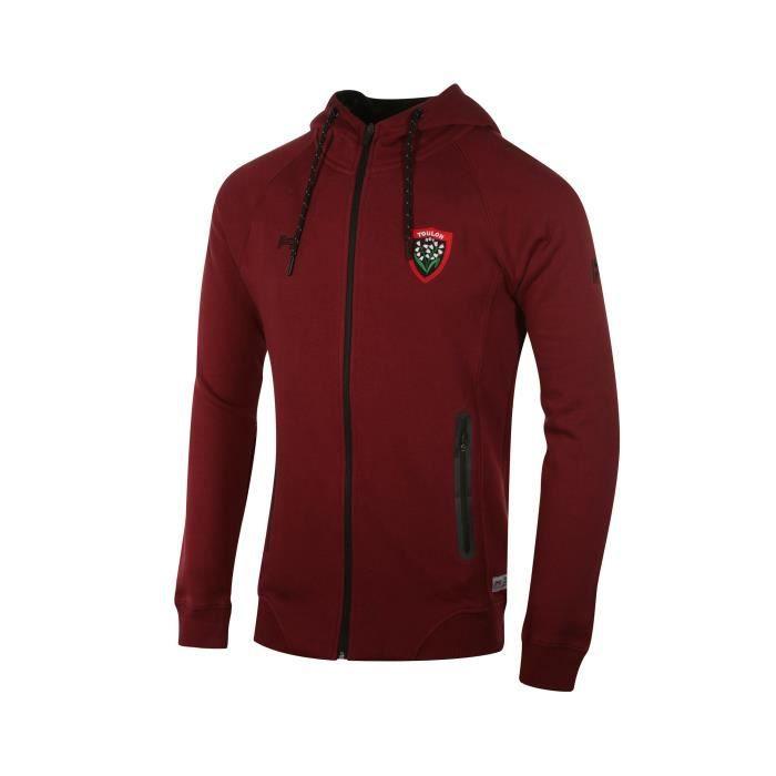 Veste à capuche Corporate RC Toulon Rouge