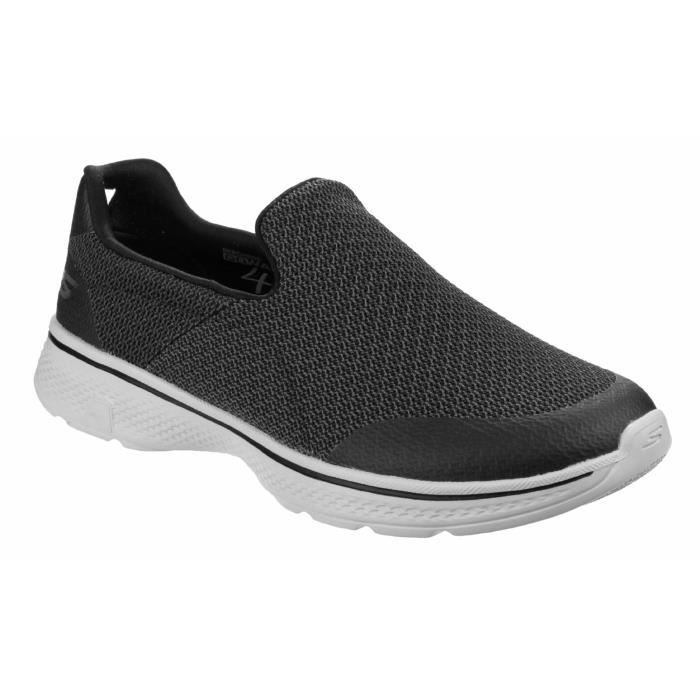 Homme Sans 4 Skechers Chaussures Go Expert Walk Lacets v0ONnw8Pym