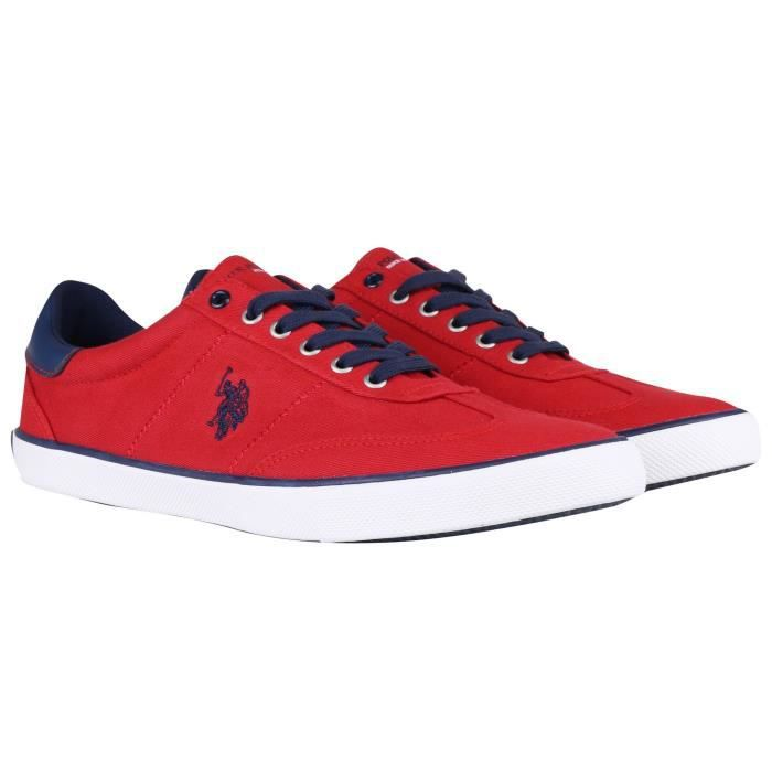 Baskets basse US POLO ASSN RAY rouge (Rouge - 45) AbWoQnawM