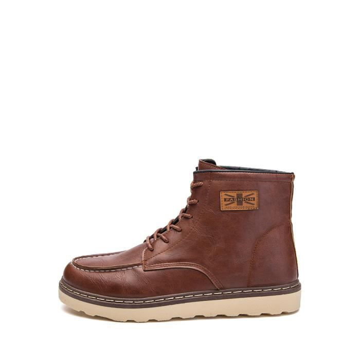 Design Up Lace Bottes Chic Comfy hommes durables Chaussures 10060400 Mode ZqFxXvxn5