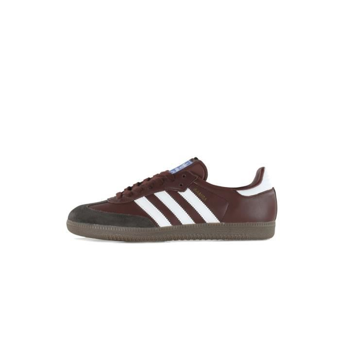 Prix double section Basket Basket section adidas Originals Samba OG CQ2153 Marron Marron Achat b7f9f2