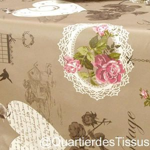 nappe toile au metre achat vente nappe toile au metre. Black Bedroom Furniture Sets. Home Design Ideas