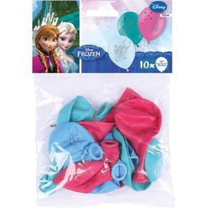 BALLON DÉCORATIF  AMSCAN 10 ballons latex Reine des Neiges 25,4cm