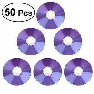 CD - DVD VIERGE 50 pcs DVD + R DL 8.5g 8X imprimables Blanc Top Bl