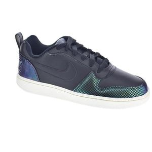 BASKET MULTISPORT NIKE Baskets Court Borough Se - Femme - Noir