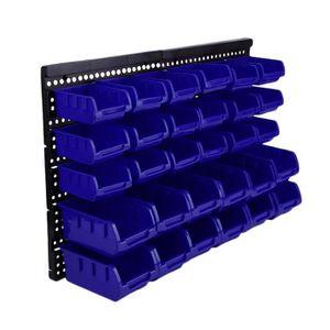 BOITE A COMPARTIMENT 30pcs Boîte à outils, Boîtes de Rangement outila m