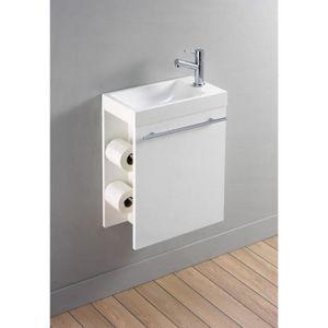 LAVE-MAIN Lave-mains complet avec meuble distributeur de pap