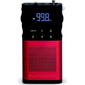 RADIO CD CASSETTE SCHNEIDER SC160ACLRED Radio Tuner   Digital Pll Pi