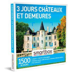COFFRET SÉJOUR SMARTBOX - Coffret Cadeau - 3 jours châteaux et de