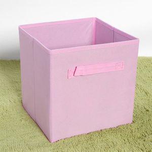 BOITE DE RANGEMENT 6 Pcs Bac de rangement Boîte de rangement en tissu