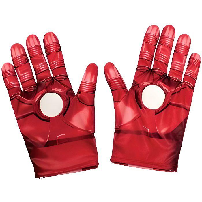Rubie´s Rubie's Gants pour Enfant Produit Officiel Marvel Avengers Motif Iron Man Taille Unique - 35694