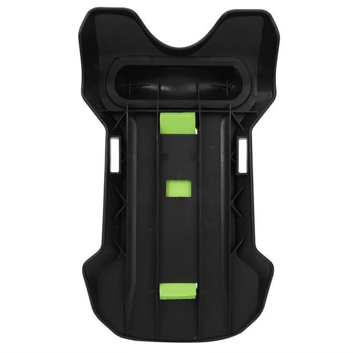 Ceinture de force Stimulateur de soutien pour soulagement de la douleur de taille-civière lombaire de vertèbre cervicale noir vert