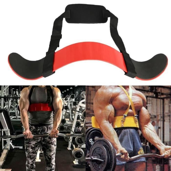 Arm Blaster Body Building Bomber Isolateur De Biceps Curl Triceps Augmenter Le Muscle