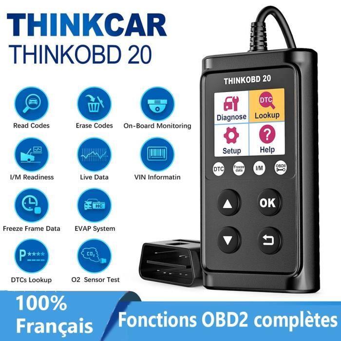 Thinkcar Thinkobd 20 OBD2 Scanner Vérifier le Moteur Lire Effacer Les Codes Moteur Lumière Vérifier Voiture Outil de Diagnostic