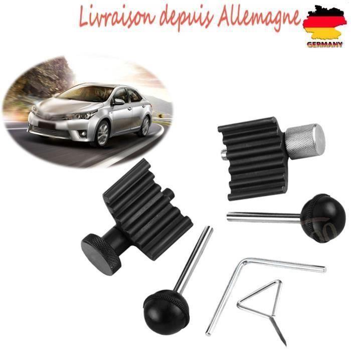 GOBRO 6pcs Outil calage moteur courroie distribution Kit moteur Arbre à cames pour moteurs diesel pour VW Audi 1.2 1.4 1.9 2.0 TDI