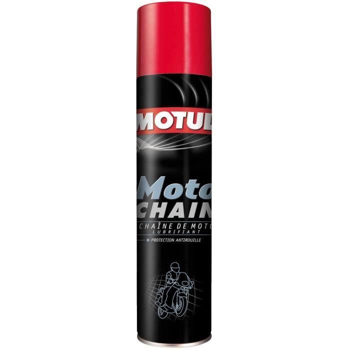 MOTUL Lubrifiant de chaîne MOTO CHAIN 400ml (aérosol)