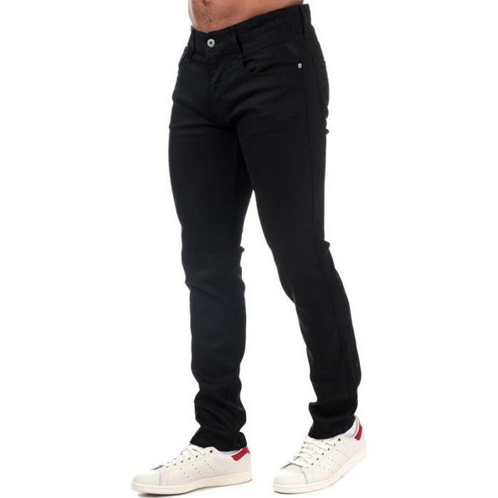 Replay Jean Anbass Slim Fit Noir Homme