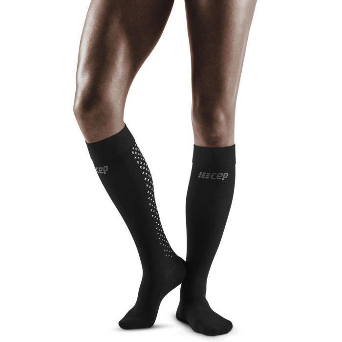 Chaussettes de compression hautes femme CEP compression 3.0 - noir - Taille 2