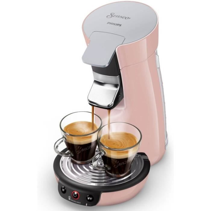 Cafetière PHILIPS - Senseo Viva café Rose - 1450 W - HD6563/31
