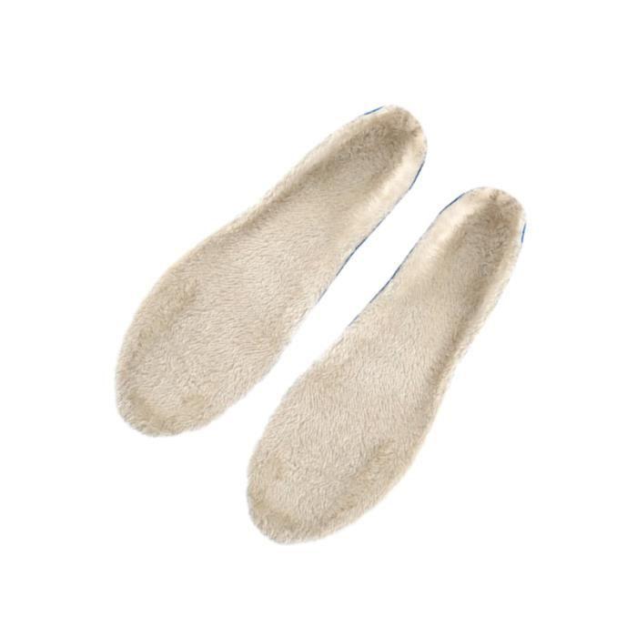 2 paires de semelles pour chaussures de sport épaississent les de Pads hiver chaudes pour pieds APPAREIL DE MASSAGE MANUEL
